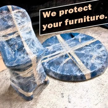 Our moving services protect your furniture